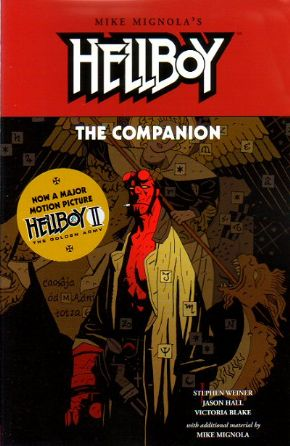 Hellboy The Companion Trade Paperback TP Mike Mignola Dark Horse Comics